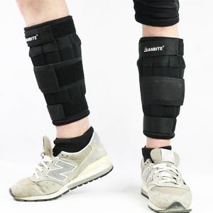 沙袋绑腿钢板铅块绑手负重运动跑步健身训练装备男女隐形可调节
