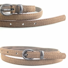 Ms belt belt Han edition fashion belt jeans with pigskin decoration waist belt for women joker bag mail