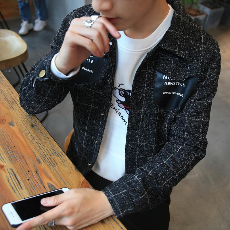 男士青年青少年薄款夾克