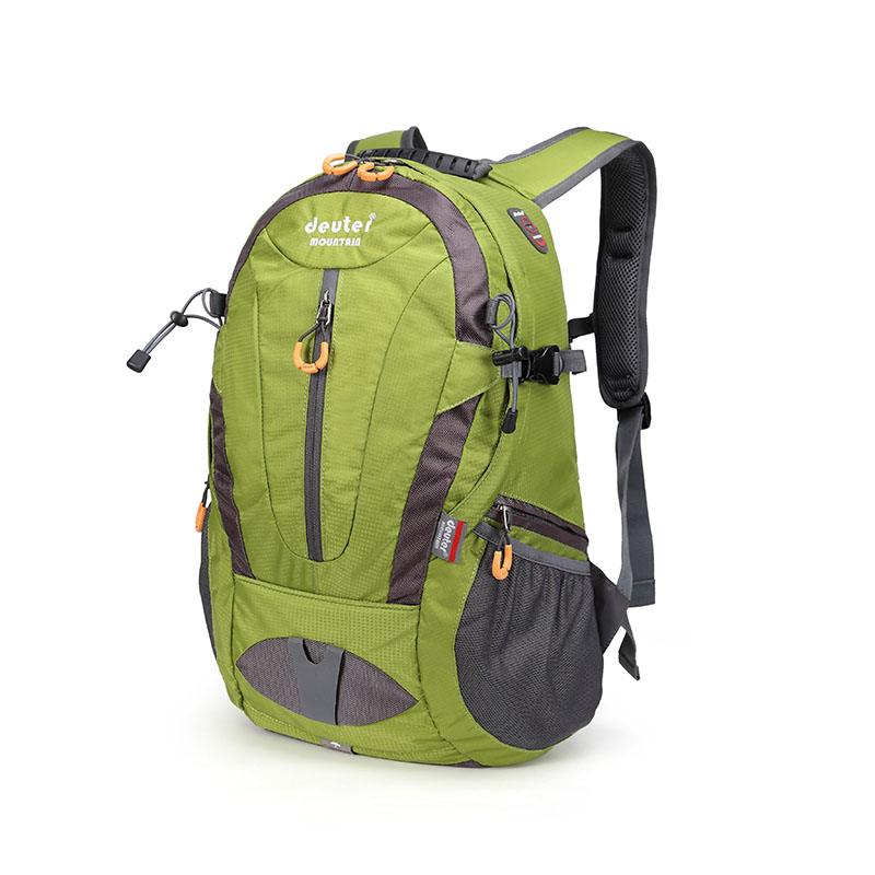 Outdoor mountaineering bag ultra light backpack mens backpack womens travel bag sports hiking bag 30L rain cover