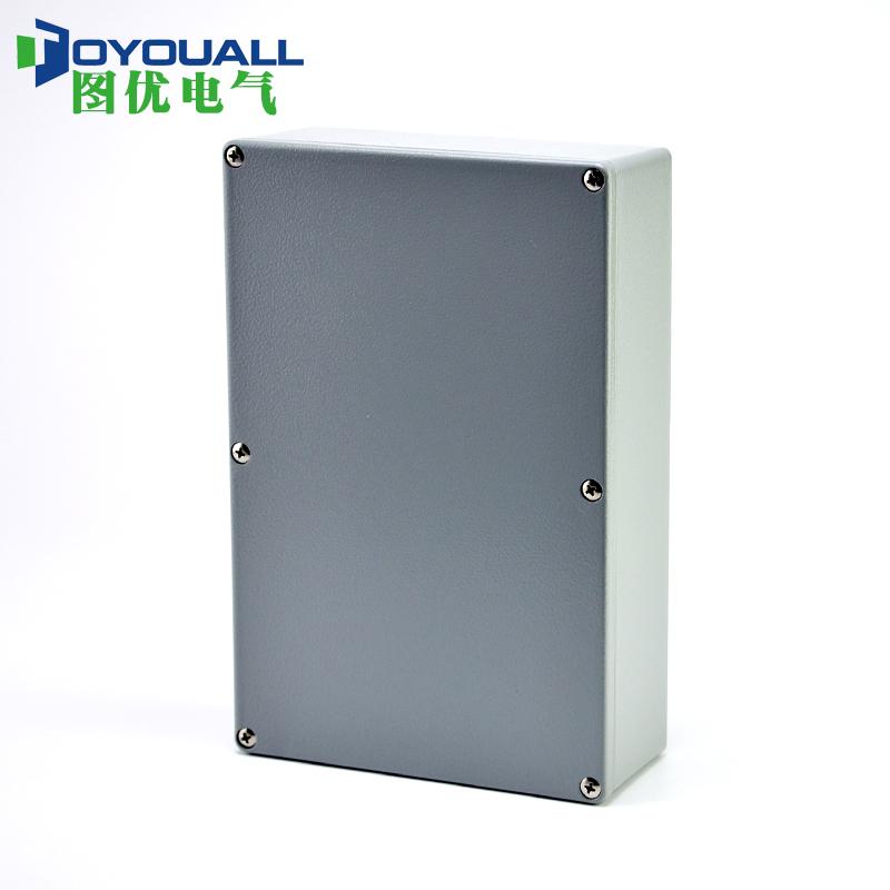 铸铝防水盒 防水铝盒 室外接线盒过线盒端子盒 铝合金222*145*55