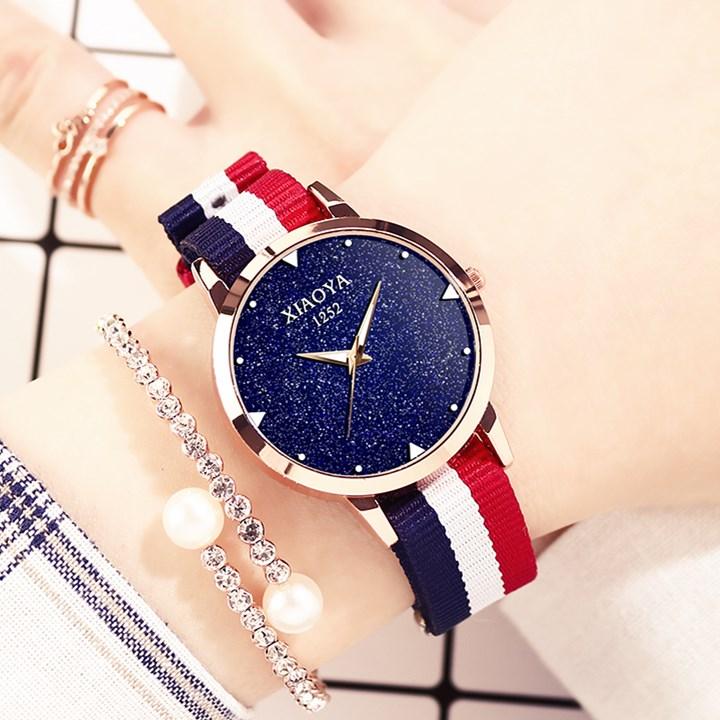 Мисс наручные часы водонепроницаемый мода 2017 новый тенденция серебристые кварц женская форма кожаный ремень студент корейский простота большой газ