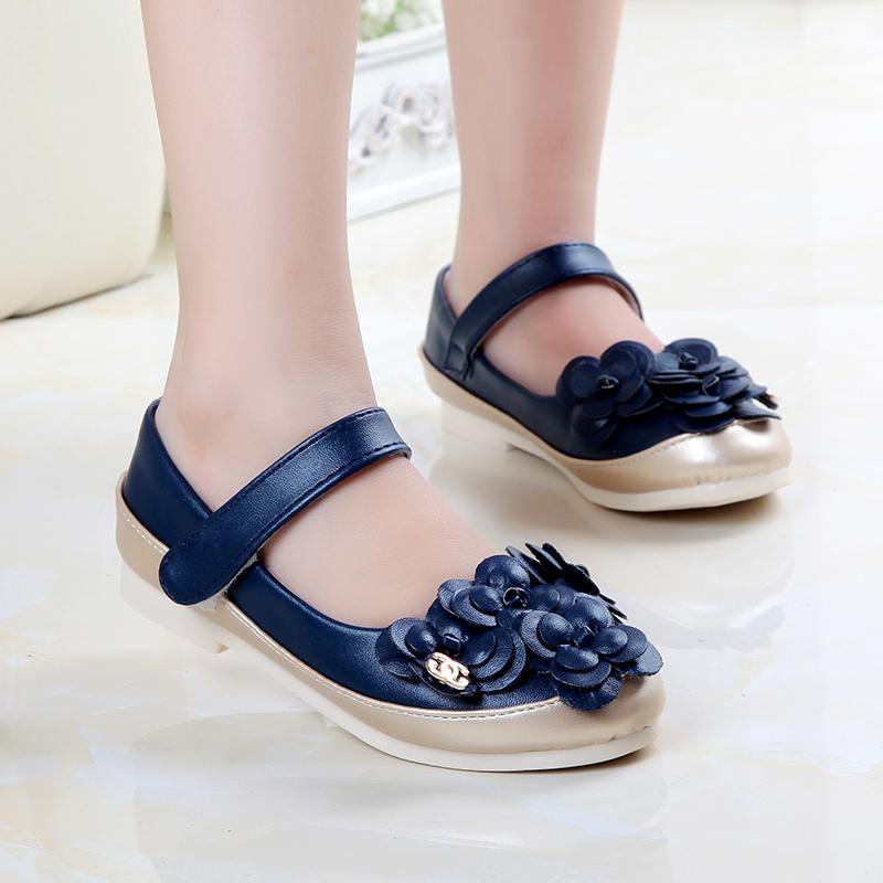 Осенью 2015 корейской версии Детская обувь девушки Дикие Сладкая пастырское Фэн популярные принцесса обувь и обувь для отдыха