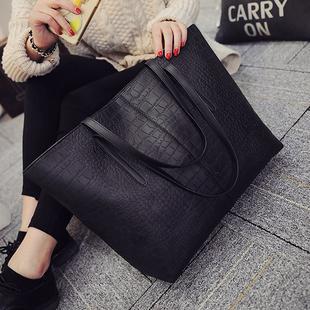 包包2021新款韩版潮大容量女士学生单肩包手提包百搭简约女包大包