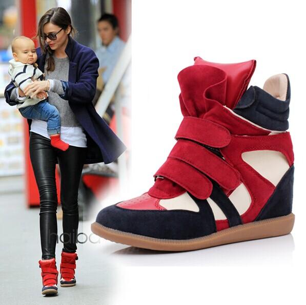 Европе увеличилась приливные обувь Velcro обувь для отдыха обувь Высокие кроссовки цвет соответствия универсальный комфорт обувь