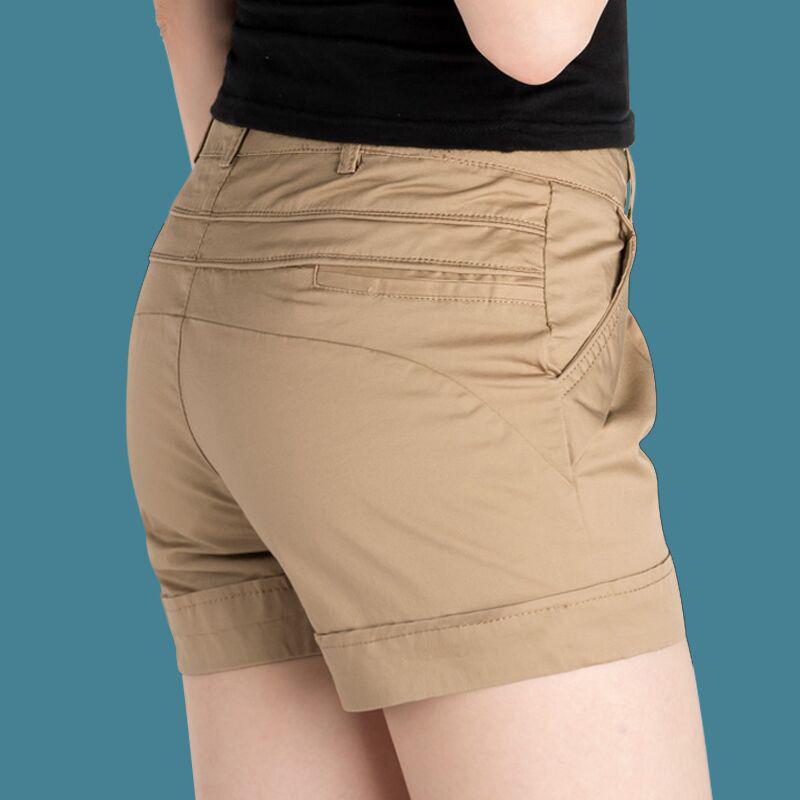 女装休闲夏天显瘦夏季热裤白色外穿百搭女士西装短裤女夏2019新款