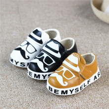 Baby toddler shoes 2015 autumn boy han edition leisure small PU leather shoes single shoes 0 and 1 year old bag mail