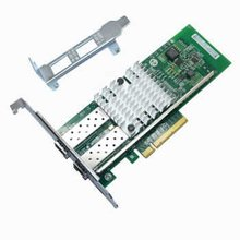 EB cc-link Wan Zhao optical fiber network card PCI - E INTEL 82599 es INTEL chips X520 server