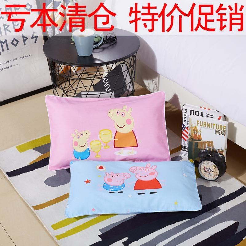 Хлопок ребенок мультики детский сад наволочка 1-3 может стирающийся хлопок ребенок подушка 3-6 лет ребенок подушка