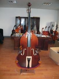 1/4 1/2 3/4 4/4优质椴木低音提琴倍大提琴大贝司Double Bass乐器图片