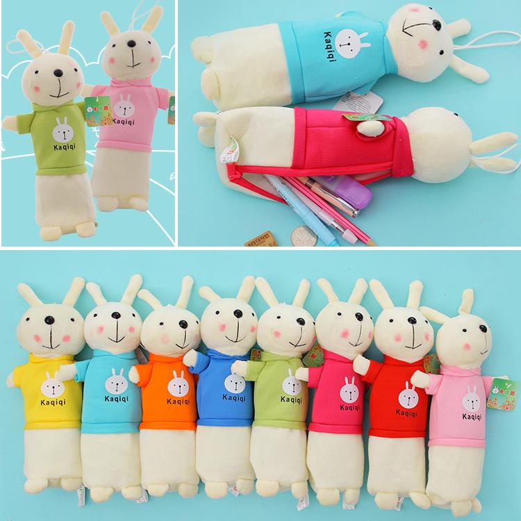 笔袋文具袋大容量兔子文具盒男 女学生可爱创意儿童学习用品批发