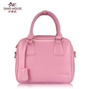Sand rat retro small square bag leather fashion handbag shoulder bag in Europe and America the trend new sweet beauties