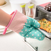 Insulated Patterned Oven Mitt