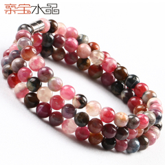 Bao Crystal ice waxy Brazil multilayer tourmaline bracelet ladies fashion jewelry necklace