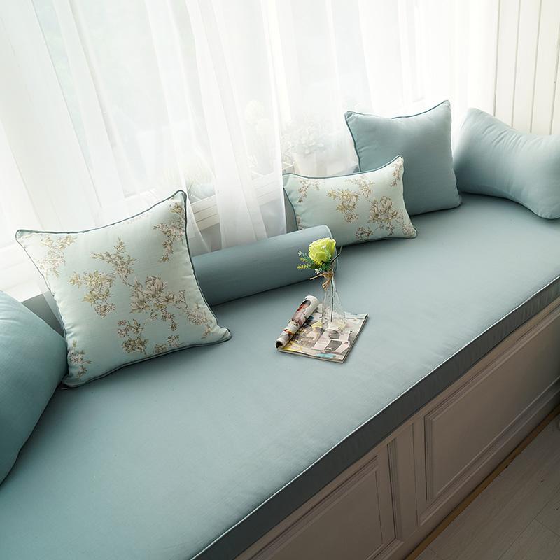 Высокой плотности губка эркер подушка окно тайвань подушка татами палуба подушка подушки на диване кровать обивка твердый твердый стандарт