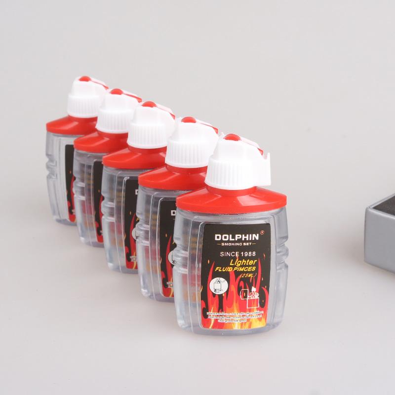 5 бутылка 1 группа больше земля бесплатная доставка дельфин небольшой уголь масло 25ml дорожная сумка уголь масло зажигалка принадлежностей монтаж общий