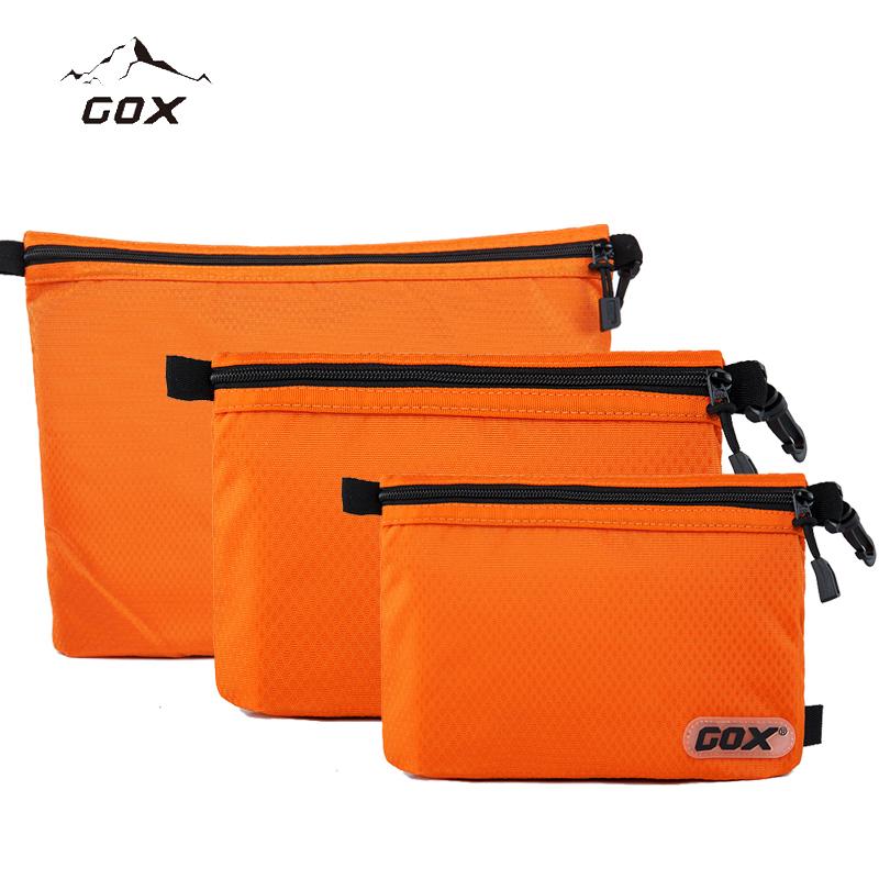GOX旅行洗漱包 男女防水拉鏈包便攜出差收納袋多 化妝包戶外