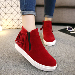 Hero sheep fall 2015 designer shoes platform high shoes student Su casual shoes, woman Shoes Sneakers tide