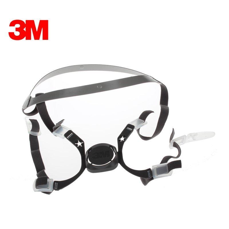 3M 6281头带组合 6100 6200 防毒面具 防尘面具 口罩 配件