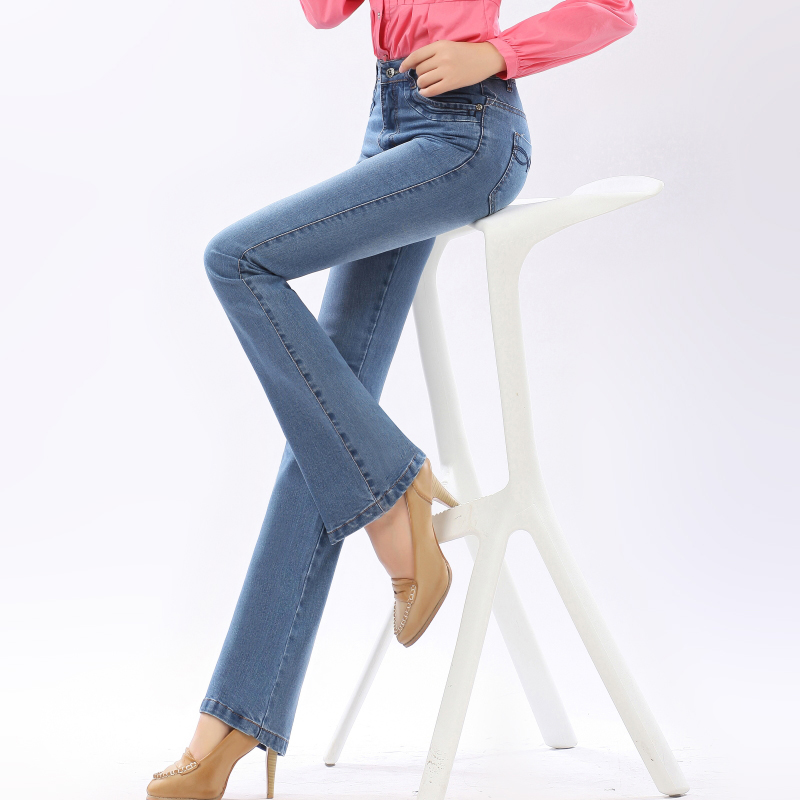 Womens slim slim slim slim slim womens long pants with high waist and wide legs