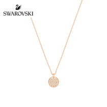 Swarovski Ginger Round pendant elegant hundred necklace collarbone chain gift to send girlfriend