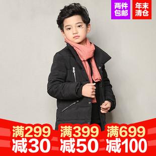 冬季新款加厚童装棉衣外套
