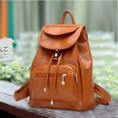 69a79c782591 2015 spring and summer college girls pu leather shoulder bags shoulder bag  dual-use package package leisure Miss Han Banchao - Taobao Depot