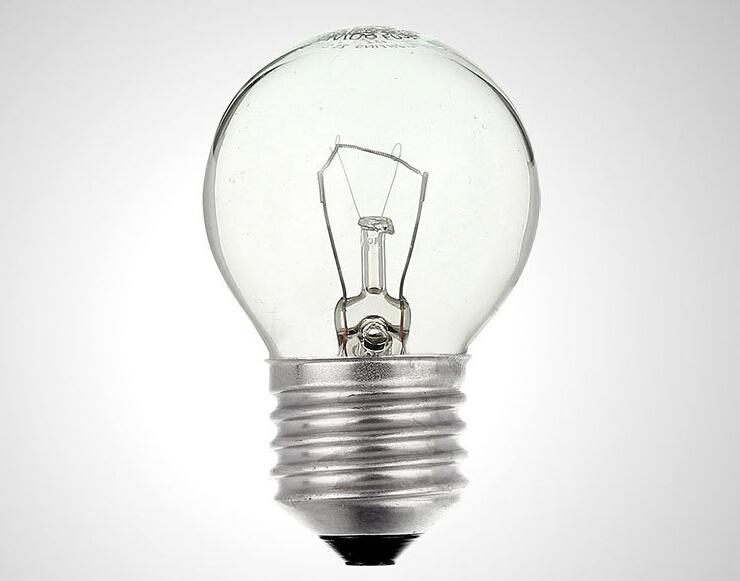 E27白炽灯光源 25W螺口钨丝灯泡 220V透明白炽灯泡 本店台灯通用