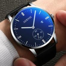 Мужские часы мода правда, пояс наручные часы мужчина кварц тенденция мужской наручные часы студент водонепроницаемый модное платье стол машины запястье стол