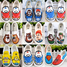2015 the spring and autumn period and the strong baldheaded series of children's shoes boy canvas shoes a pedal boy lazy people