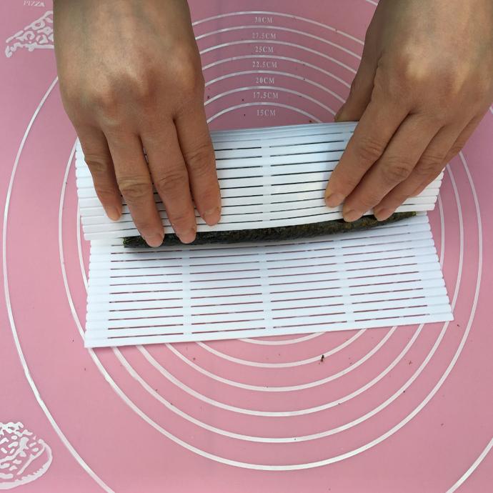 包邮家庭用彩盒整体寿司帘寿司卷帘diy饭团米饭工具紫菜包饭工具