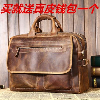 Ретро mad мужчины оригинальные Ма Pinan сумки бизнес сумка ноутбук сумка кожа мужские сумки на плечо диагональная рюкзак