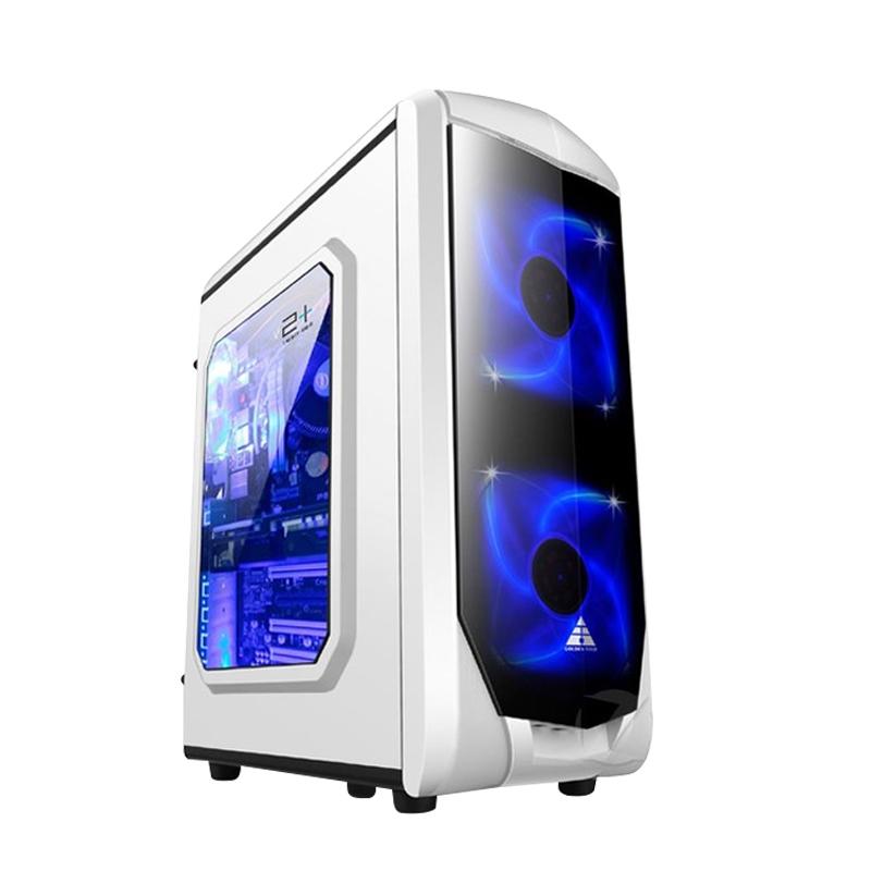 順豐包郵四核J1900高性能低功耗台式電腦主機組裝機DIY主機