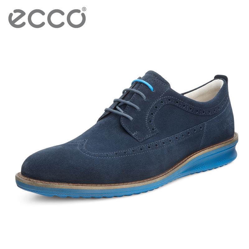 ECCO любовь шаг мужская обувь бизнес официальная одежда кружево кожаная обувь мода обувь хочу инжир 632144