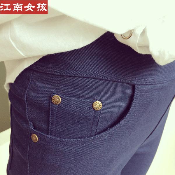 Ношение плюс бархат плюс размер мягкие черные леггинсы брюки высокой талией брюки женщин с связанные ноги карандаш брюки брюки осень/зима
