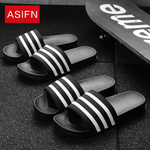 夏季男士拖鞋韩版潮流室内外一字拖家居家浴室防滑男款沙滩凉鞋夏图片