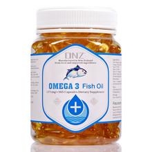 神价格 新西兰进口 DNZ Omega-3 深海鱼油胶囊 1.371g*365粒 保护视力 改善三高 预防心血管疾病
