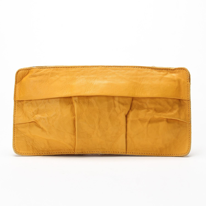 JNBY/江南布衣女式时尚牛皮革手拿包横款钱包7C22027-X1