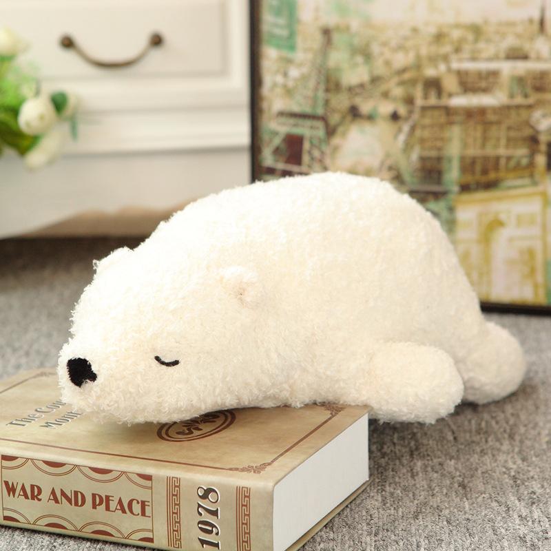 超萌柔软北极熊毛绒玩具 公仔 爆款系列 三只白熊抱枕 大号 特价