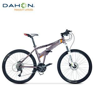DAHON大行26寸折叠山地车双碟刹铝合金成人学生山地自行车XAA673