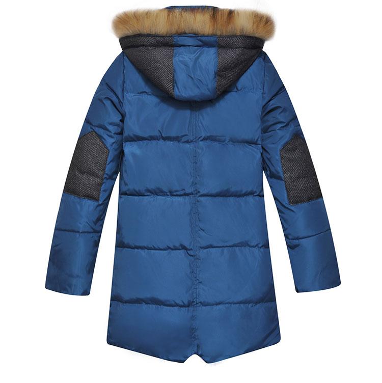 «Ежедневные специальные» детей подлинные зимой носить пальто вниз мальчиков Куртки пуховики 2015 плюс