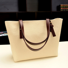 Han edition 2015 new fashion bag bag contracted large handbags in Europe and the serpentine hand the bill of lading shoulder tide restoring ancient ways female bag