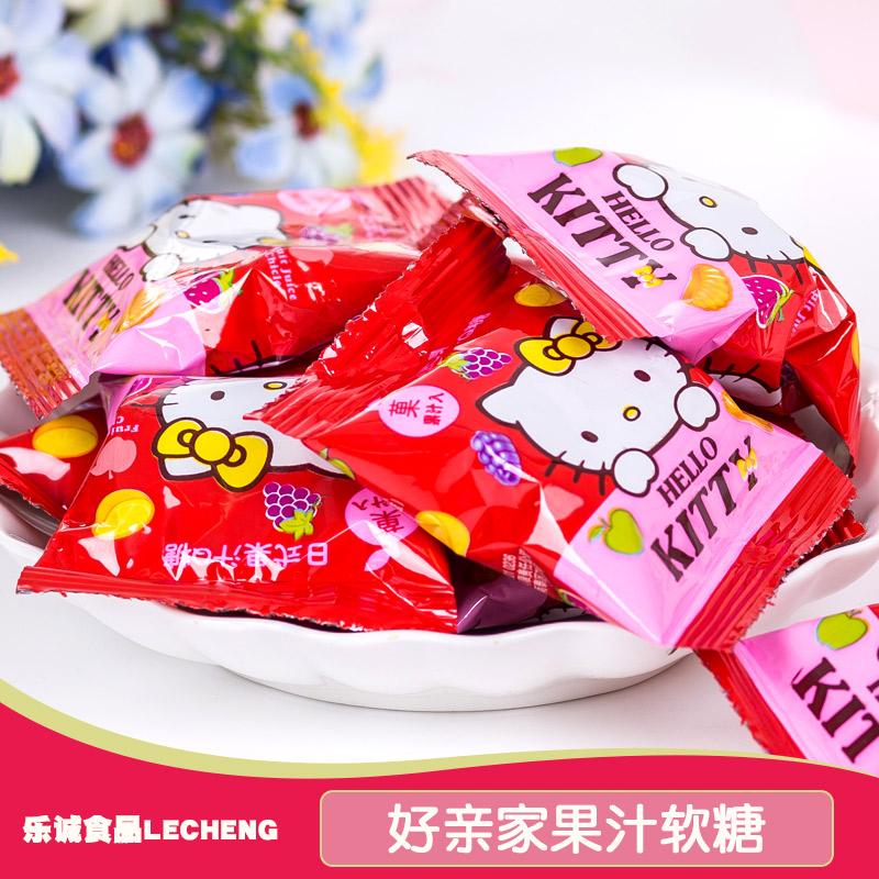 好亲家日式果汁QQ软糖糖 500g散装称重 结婚庆喜糖批发零食软糖