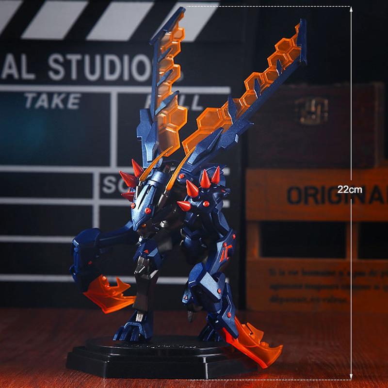 英雄聯盟LOL周邊 大號卡茲克螳螂霸天異形 可拆卸Q版手辦玩偶模型