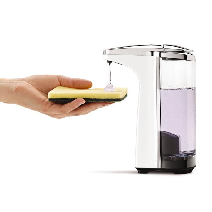 美国 SimpleHuman家用台式全自动感应出洗手液机皂液器现货