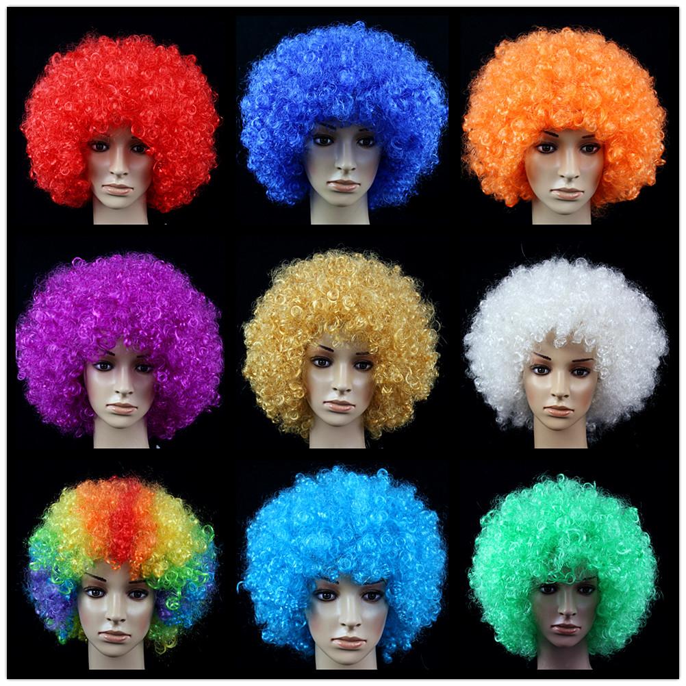Лес клык 120g ложный головной убор , круглый кудри xl головной убор большой размер парик взрыв голову парик вентилятор волосы