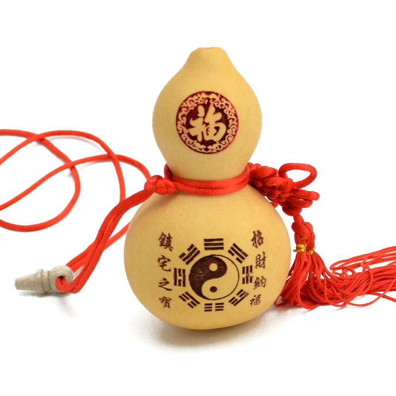 禪意閣吉祥物開蓋天然葫蘆風水汽車掛件家居工藝裝飾品擺件酒葫蘆