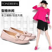 Fondberyl/feibolier-fall 2015 new Sheepskin streaming Su Yuan head Doug shoes women's shoes FB53112841
