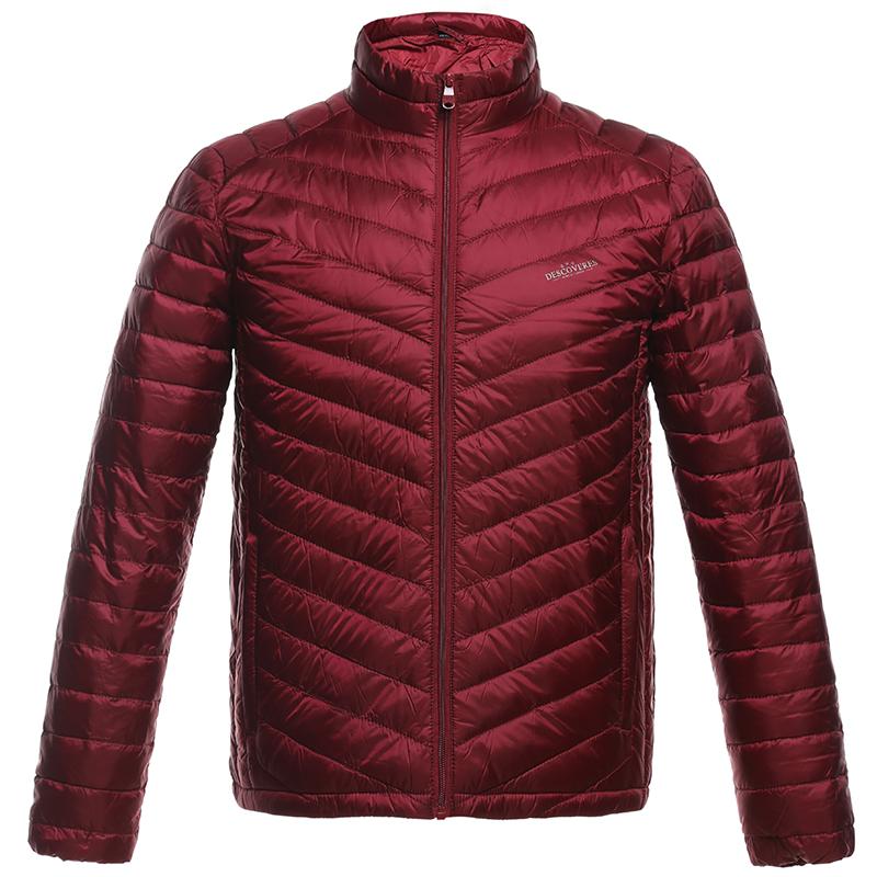 梦娜世家新款男士冬轻薄保暖时尚休闲运动柔软羽绒服1501