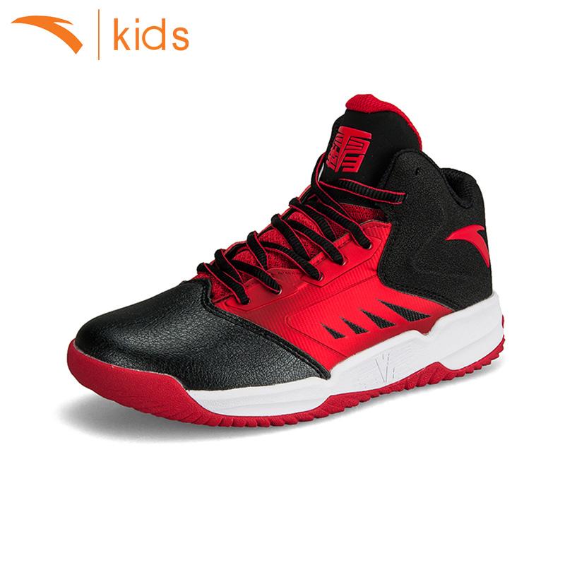 安踏兒童籃球鞋童鞋男童 鞋春夏 少年男孩大童鞋學生 鞋